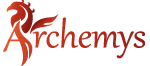 Logo for Archemys and link to website