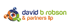 Logo for David B Robson & Partners and link to website.